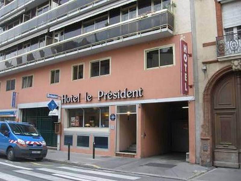 H Tel Le Pr Sident En Plein Centre Ville De Toulouse Avec